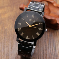 Fashion Roman Numbers Watch Woman Wrist Quarzt Watches for Ladies Girls
