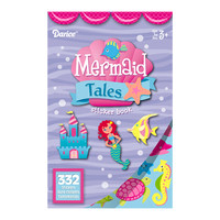 ConsumerCrafts Product Mermaid Tales Sticker Book with 332 Kids Stickers