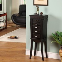 Nathan Direct Eiffel Tower 5 Drawer Jewelry Armoire