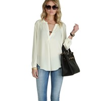 Sale-ivory Live For The Moment Marilyn Top