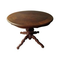 Pre-owned Inlaid Wood Center Table