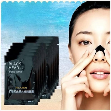New Arrivals 10Pcs Mineral Mud Nose Blackhead Pore Cleansing Cleaner Removal Membranes