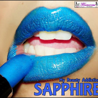 Blue Lipstick Color Rich LipstickSapphire by MyBeautyAddiction
