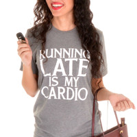 Running Late Tee By ATX