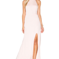 De Lacy Nikki Maxi Dress in Washed Pink