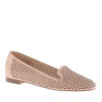 J.Crew Womens Cleo Perforated Loafers