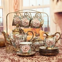 European Luxury Teapot Set