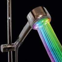 Color Changing Showerhead Nozzle - Rainbow LED Lights Cycle Every 2 Seconds:Amazon:Home Improvement