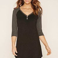 Heathered Raglan Nightdress