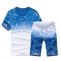 Mens Fitness Tracksuit Set / Sporting Suit