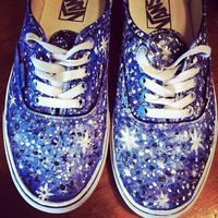 Star Bright Shoes by PaintItBetter on Etsy