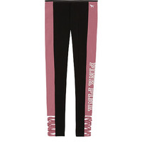 Cotton Strappy Legging - PINK - Victoria's Secret
