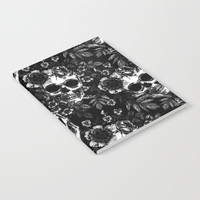 Skull Flora Notebook by allisone