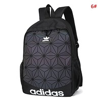 Adidas Fashion New Letter Print Women Men Travel Leisure Backpack Bag 6#
