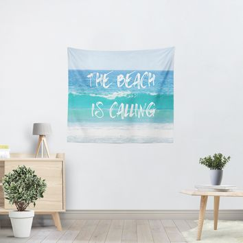 The Beach is Calling Tapestry