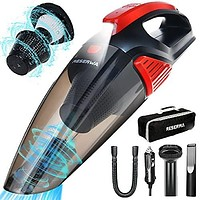 Car Vacuum Cleaner with LED Light 7500PA 12V 16.4FT Cable Portable Handheld Car Vacuum