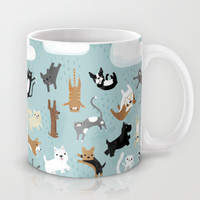 Raining Cats & Dogs Mug by Anne Was Here