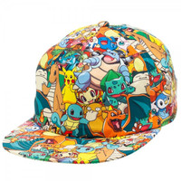 Pokemon - All Over Sublimated Cap