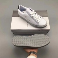 Puma x Kj?benhavn Clyde Stitched HAN White Drizzle Shoes Sneakers 364474-02