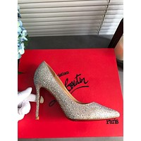 Christian Louboutin Cl So Kate Glitter Mini Pumps Reference #111