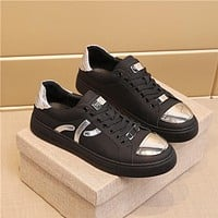 ALEXANDER MQ  Men Fashion Boots fashionable Casual leather Breathable Sneakers Running Shoes0419cx