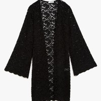 Overvold Lace Duster Cardi