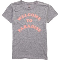 Billabong - Welcome To Paradise Tee | Dark Athletic Grey