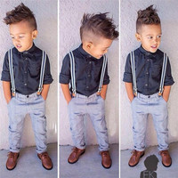 Boys Stylish 3 Piece Gentleman's Set
