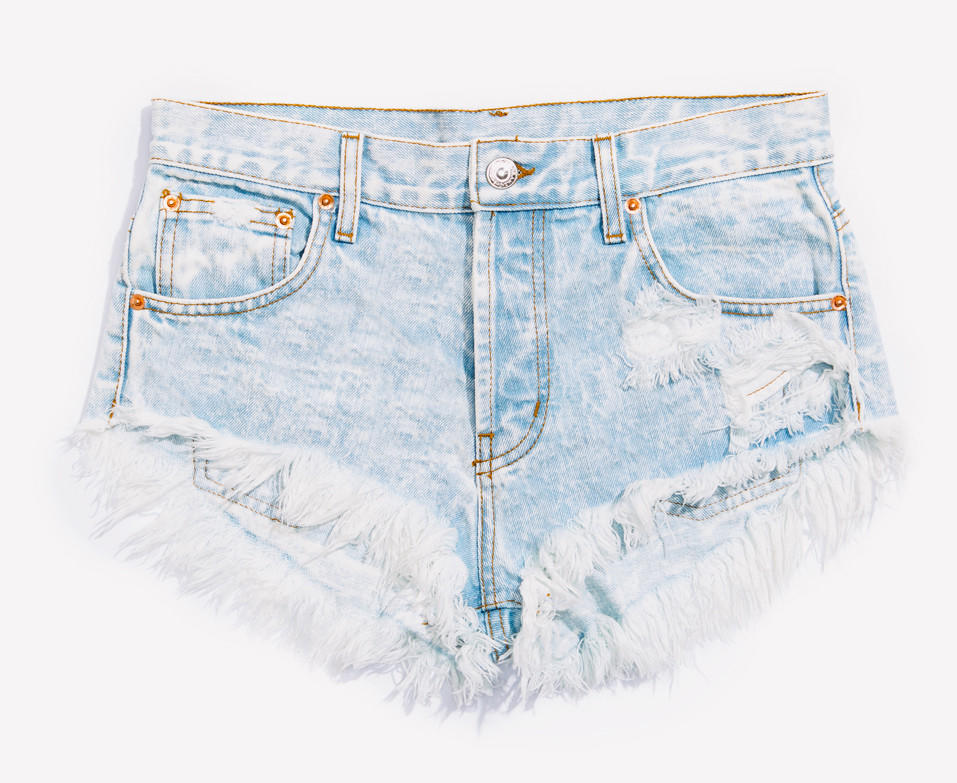 Image of Lovers Stoner Babe Distressed Cut Off Shorts