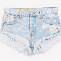Lovers Stoner Babe Distressed Cut Off Shorts