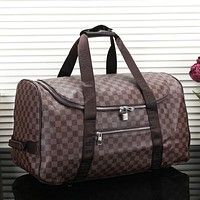 LV Louis Vuitton Fashion New Monogram Check Women Men Handbag Shoulder Bag