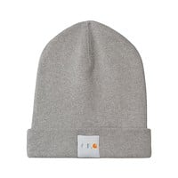 Carhartt WIP Watchtower Knit Cap in Heather Grey