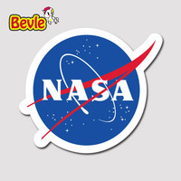 Bevle 1748 Nasa Stickers Geezer Notebook Waterproof 3M Sticker Laptop Luggage Fashion Skateboard Car Graffiti