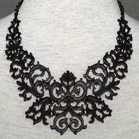 The Black Totem  Necklace | Choies