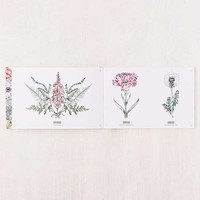 Tatouage: Blossom - 102 Temporary Tattoos of Flowers & Plants By Victoria Foster | Urban Outfitters