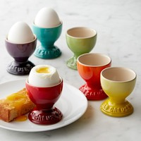 Le Creuset Heritage Stoneware Egg Cups, Set of 6