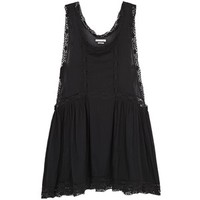 Isabel Marant Étoile Dixie black cotton voile dress