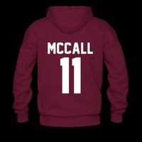Scott lacrosse hoodie (FRONT AND BACK)
