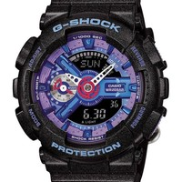 Casio Womens G-Shock S Series Street Smart Resin Case and Strap Black Watch