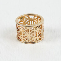 Smooth Crossway Ring