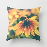 Bloom Throw Pillow by Olivia Joy StClaire