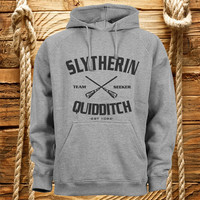 Slytherin Quidditch harry potter hoodie, sweatshirt hooded, hoodie, jacket, unisex, gift
