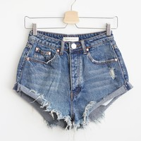 Pixie Shorts - Denim Blue