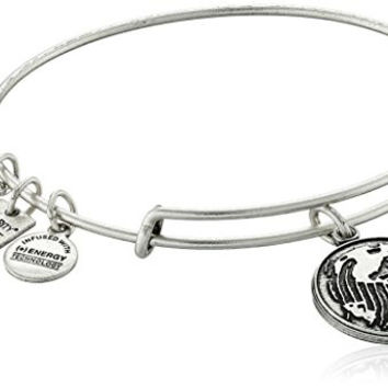 Alex and Ani Charity By Design Generation On Rafaelian Silver Bangle Bracelet