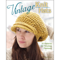 Stackpole Books-Vintage Knit Hats