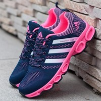 Adidas Women Fashion Trending Running Sports Shoes Pink