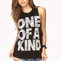 Statement-Making Muscle Tee   FOREVER 21 - 2000140287