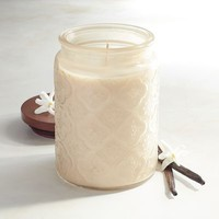 Cuban Vanilla Filled Jar Candle
