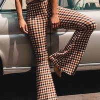 Vintage Bell-bottoms Casual Pants