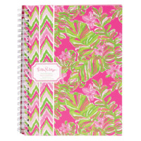 Lilly Pulitzer Mini Notebook-Jungle Tumble